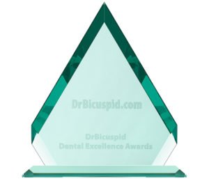 Winner Dental Excellence Award New Restorative Material 2017