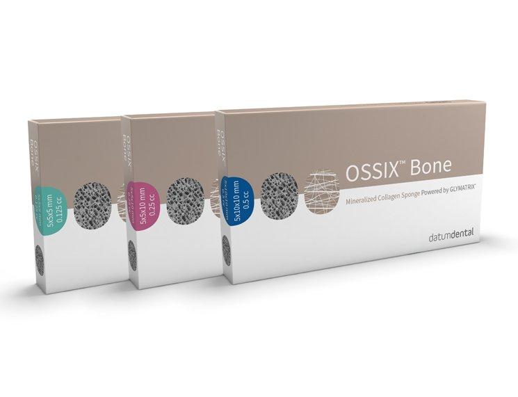 OSSIX Bone by Datum Dental packages